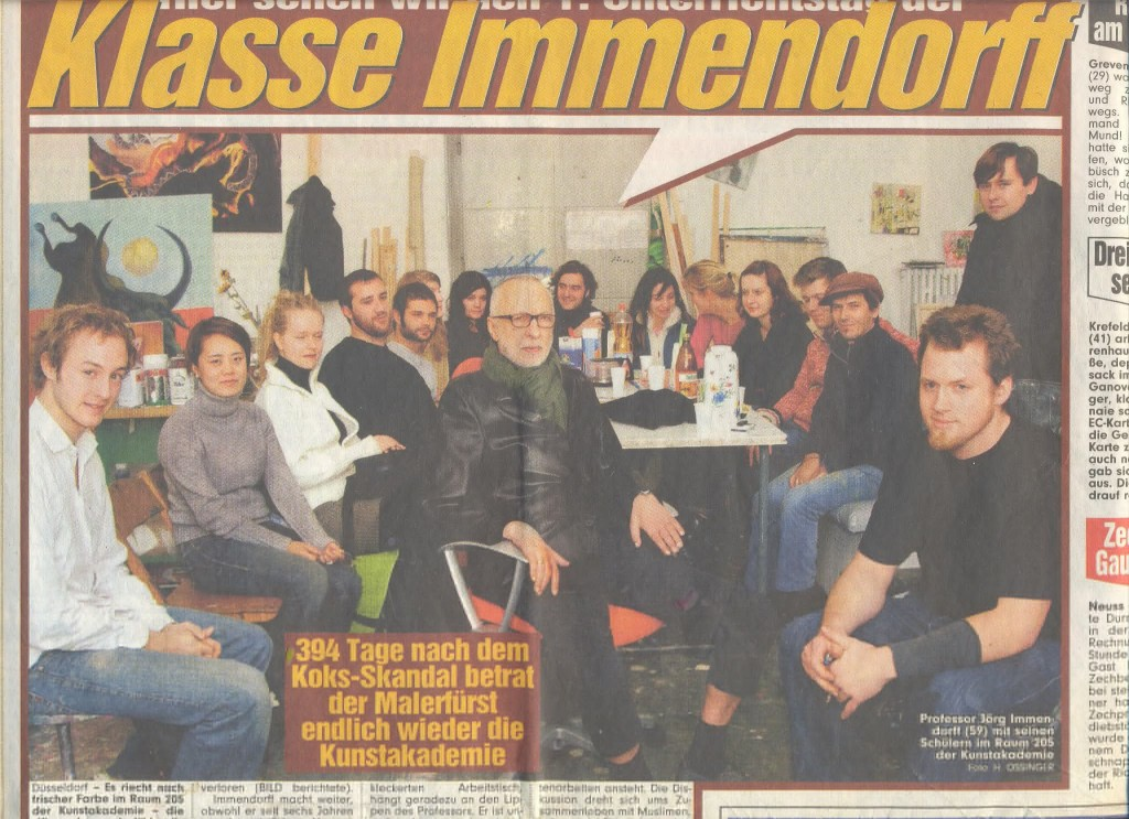 Renata Jaworska Klasse Immendorff