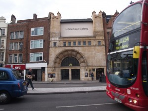 Whitechapel Gallery, Renata Jaworska,