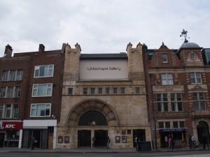 Whitechapel Gallery, Renata Jaworska, Blog