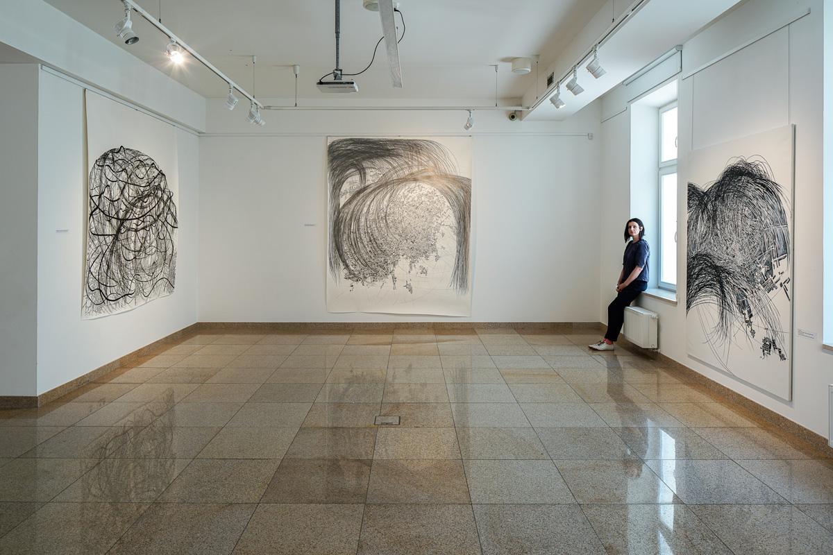 Renata Jaworska, Kunstakademie Düsseldorf, Klasse Immendorff,