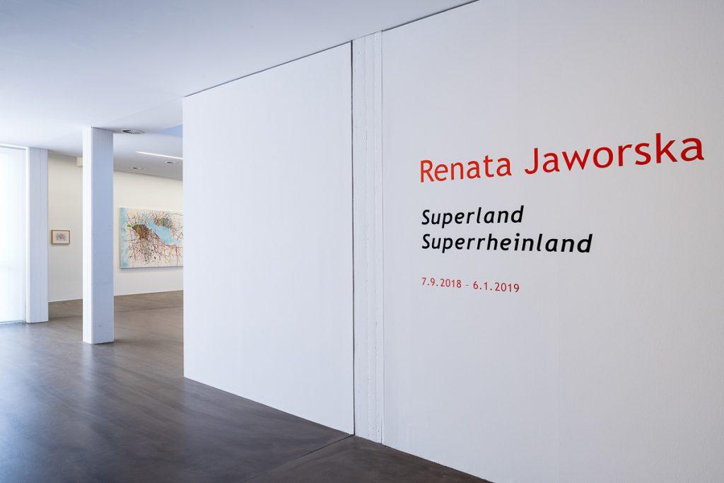 Renata Jaworska, Exhibition, Museum, Ratingen,