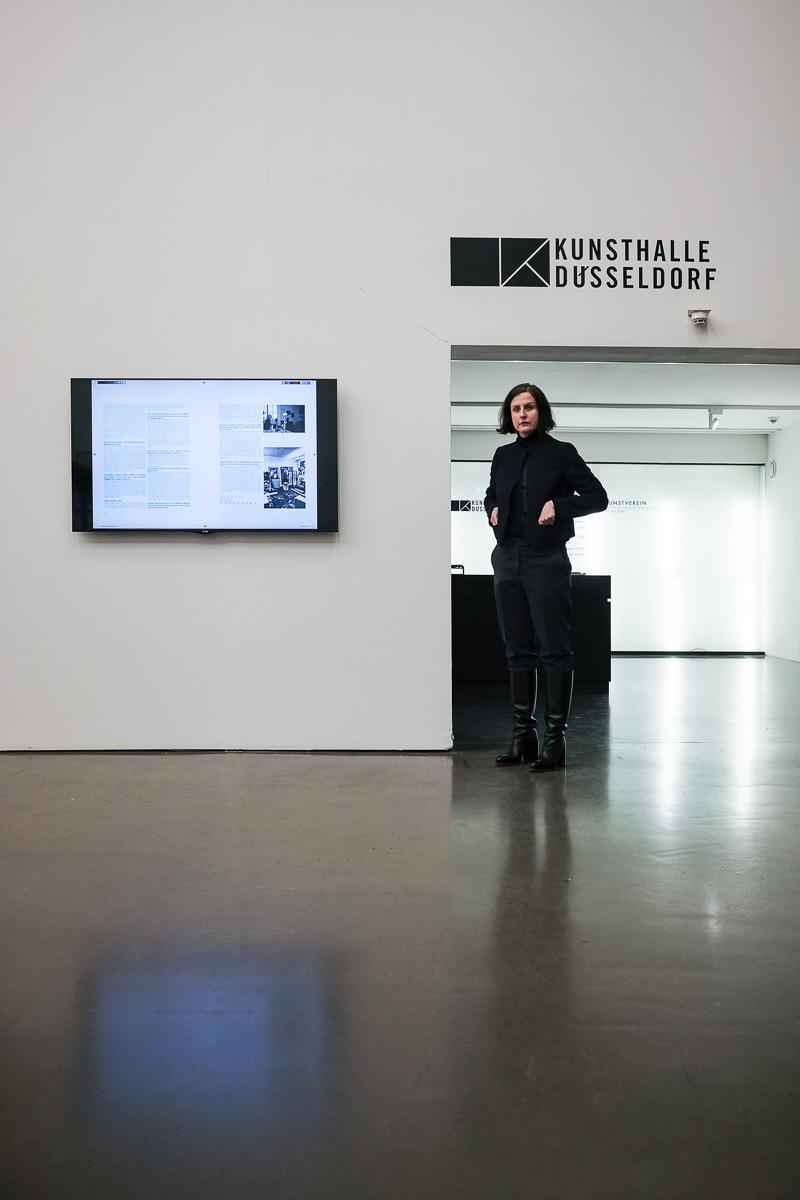 Kunsthalle Düsseldorf | Renata Jaworska: Karten und Gebiete